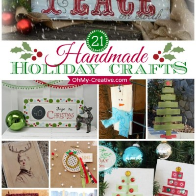21 Handmade Holiday Crafts
