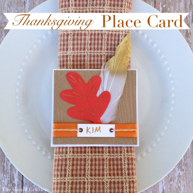 Thanksgiving placecard