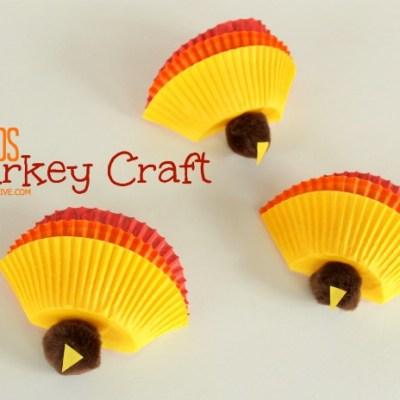 Kids Thanksgiving Turkey Craft