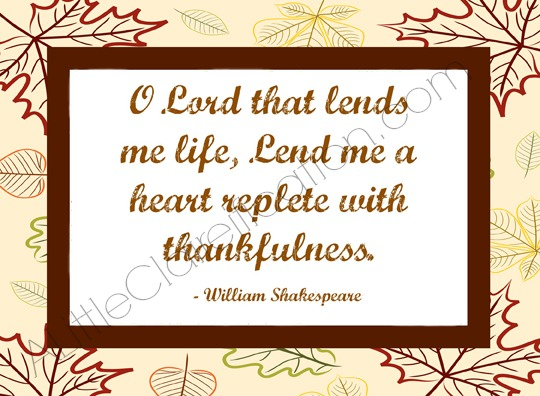 Thankfulness-Printable