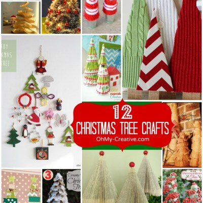 12 Christmas Tree Crafts
