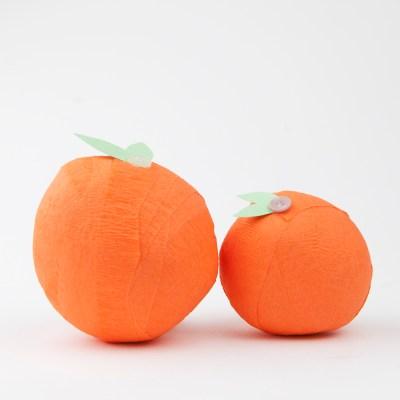 DIY Orange Surprise Balls
