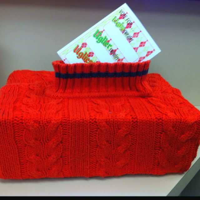 Ugly Sweater Party Voting Box