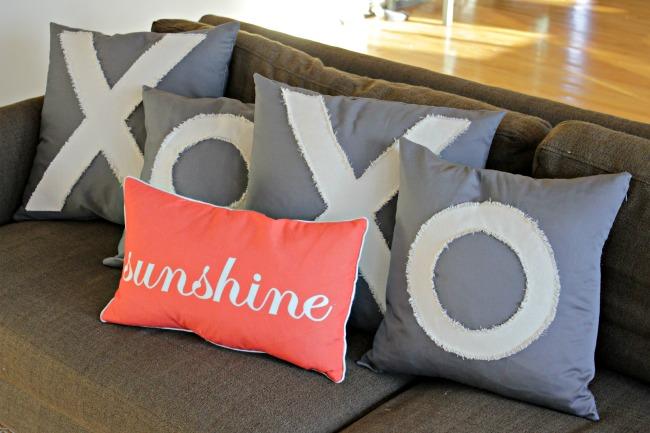 XOXO Anthropologie Inspired Pillows