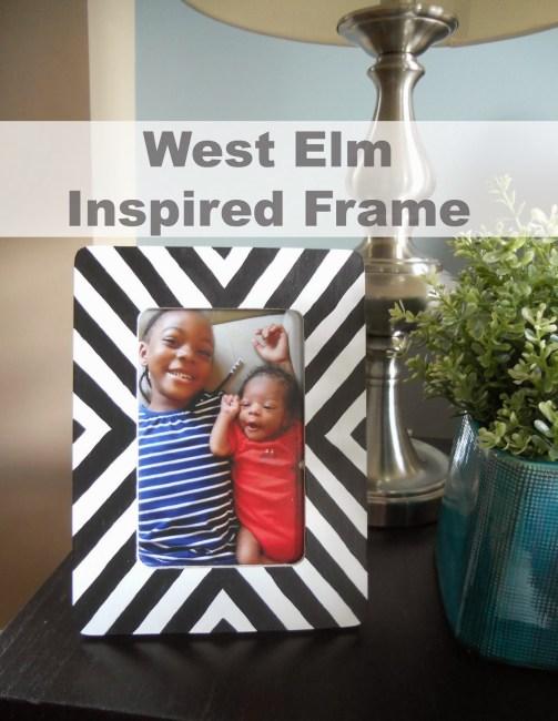 West Elm Inspired Frame