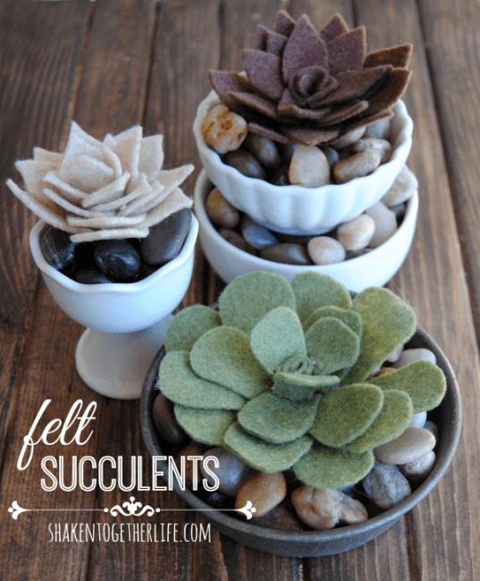 DIY-felt-succulents