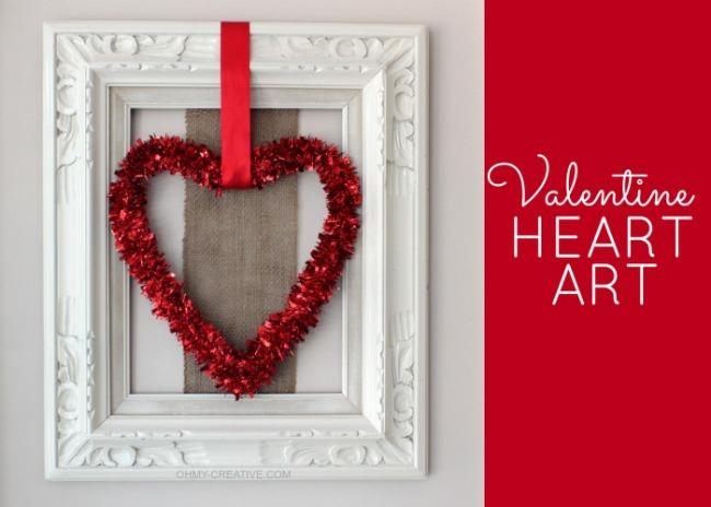 Valentine Heart Art Oh My Creative
