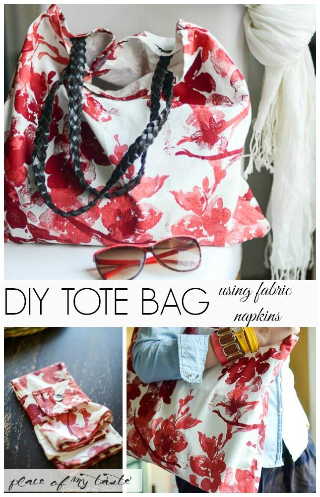 DIY-TOTE-BAG-using-fabric-napkins