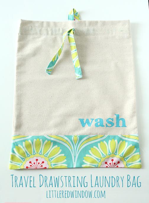 Travel Drawstring Laundry Bag