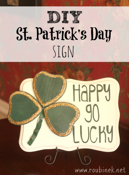 St. Patrick's Day lucky art