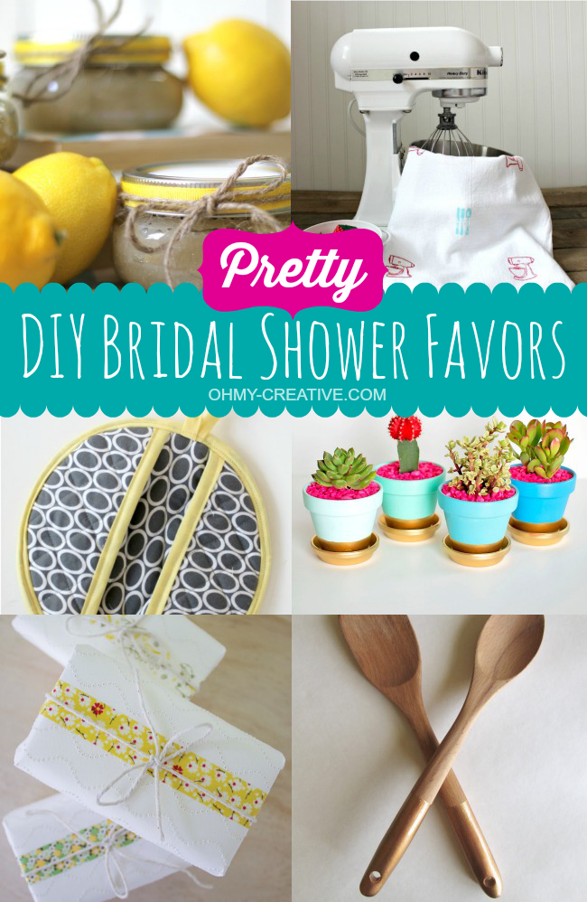 pretty diy bridal shower favor ideas ohmy creativecom bridalshower showerfavorspretty