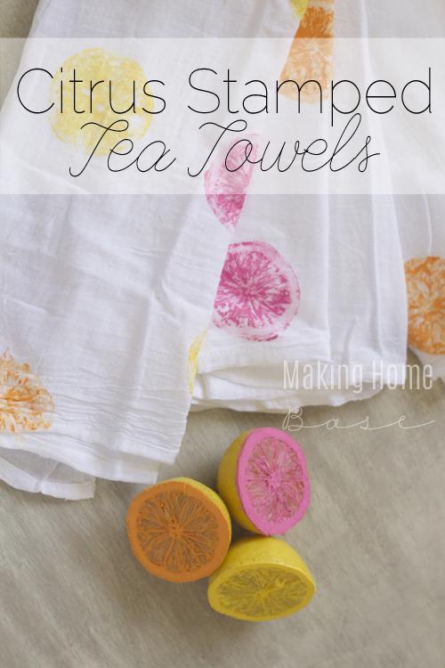 Summer-Citrus-Stamped-Tea-Towels