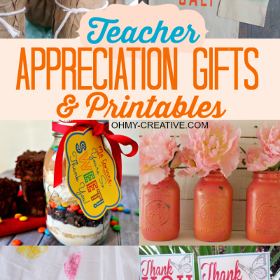 Easy Homemade Teacher Gifts With Printables