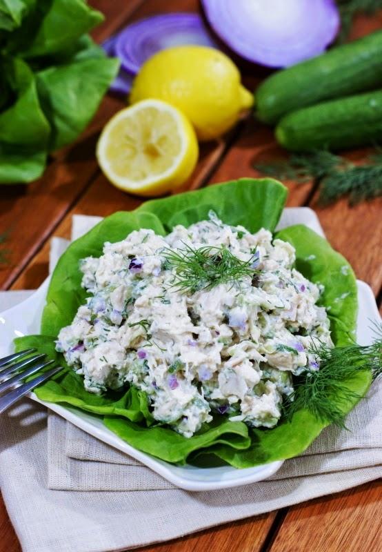 Tzatziki Chicken Salad
