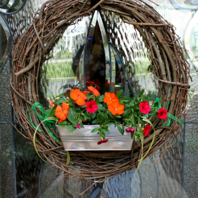 Living Flower Wreath