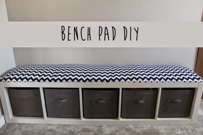 How to make a DIY Bench Cushion