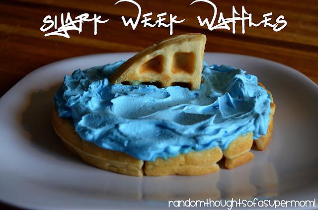Shark Week Wallfels