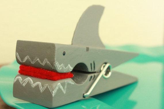 Clothes Pin Shark