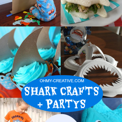 Shark Crafts And Party Ideas | Shark Week