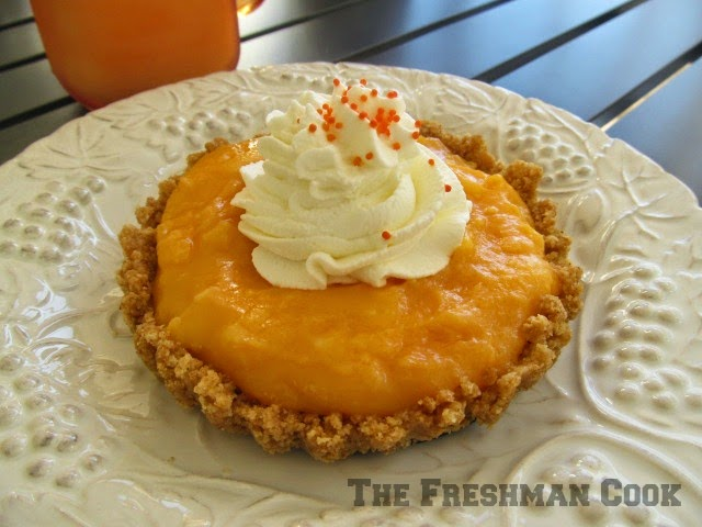 Orange Cream tart