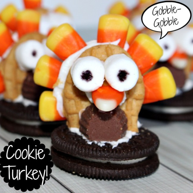 Cookie-Turkey-easy-Thanksgiving-treat