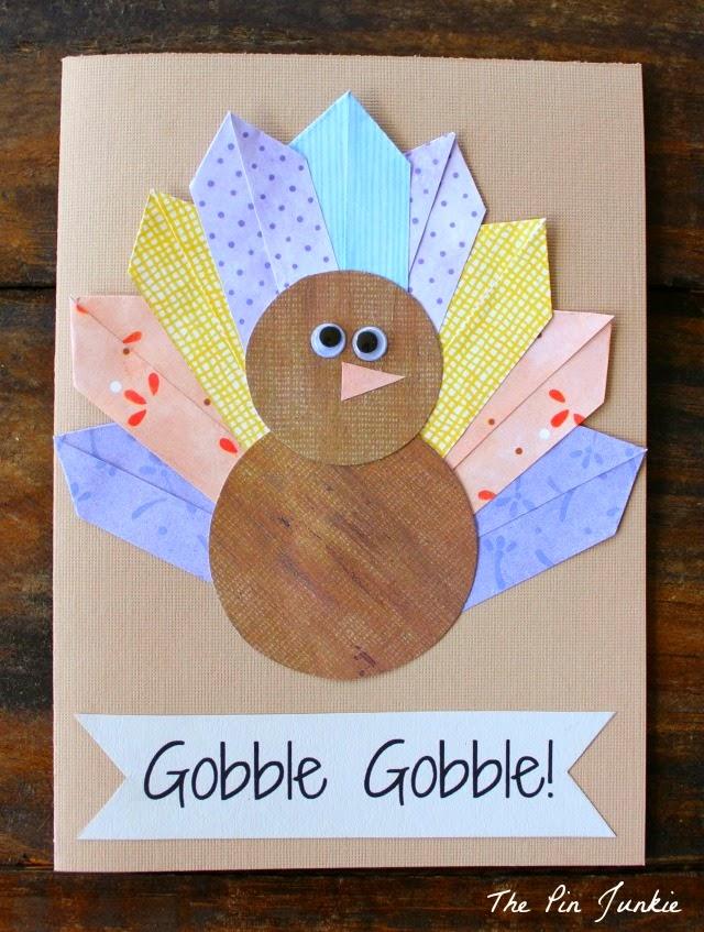 Thanksgiving Turkey Card DIY
