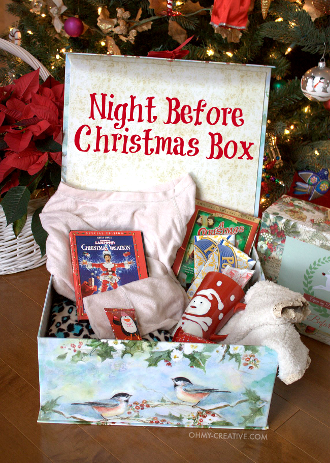 Gift Guide for the Night Before Christmas Box