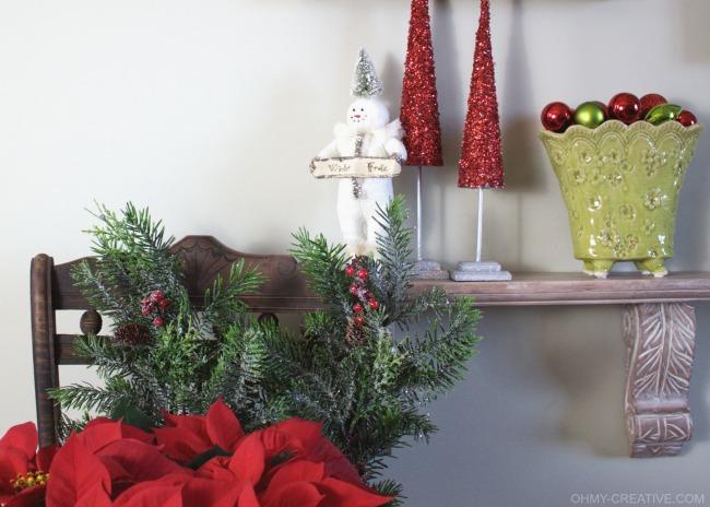 Vintage Snowman Christmas Decor     OHMY-CREATIVE.COM