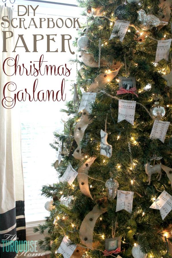 diy-scrapbook-paper-christmas-garland
