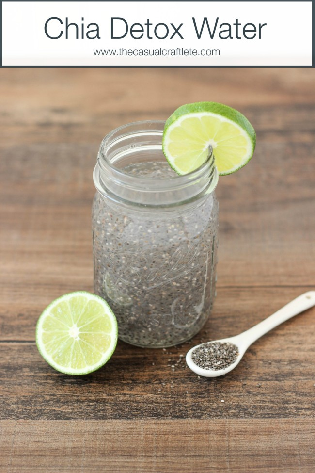 Chia Detox Water Oh My Creative