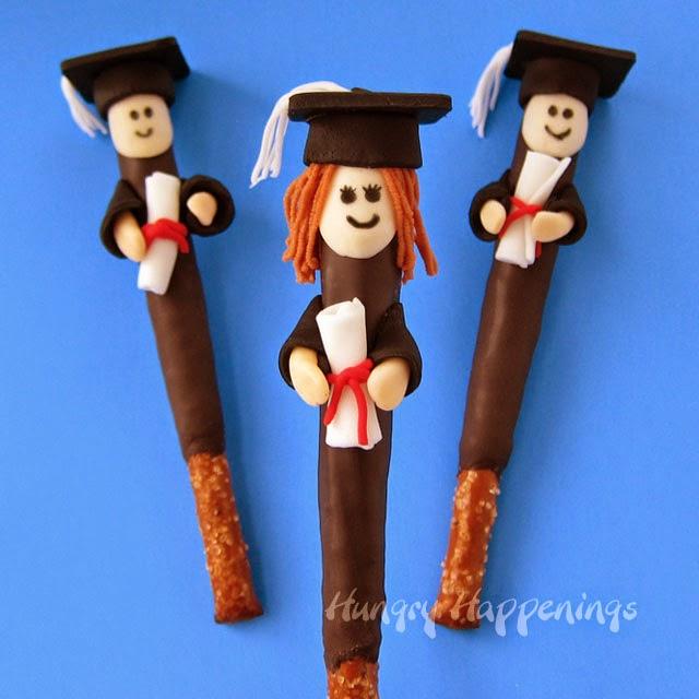 Pretzel pop graduates graduation party food