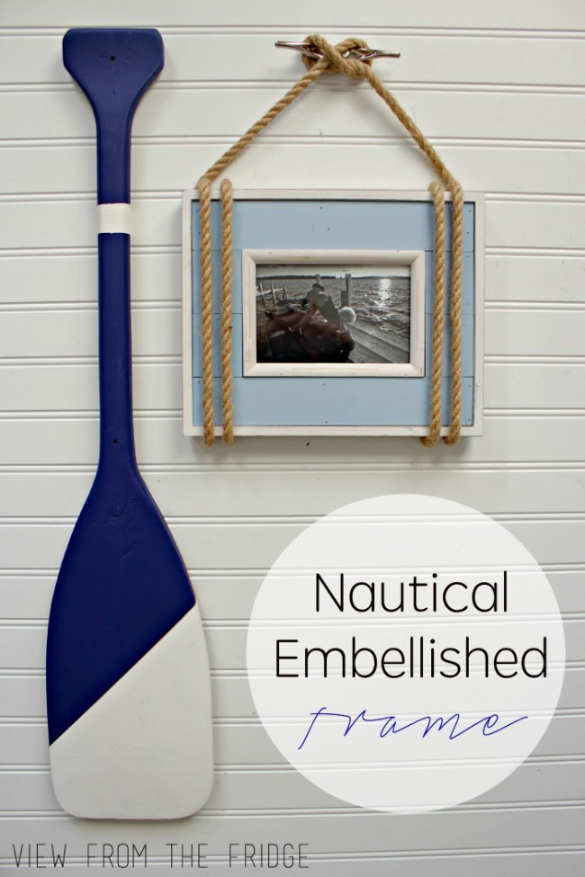Nautical Embellished Picture Frame