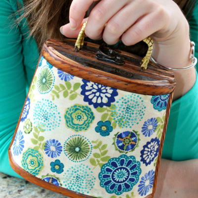 Goodwill Purse Upcycle Makeover