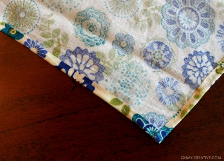 How to glue fabric