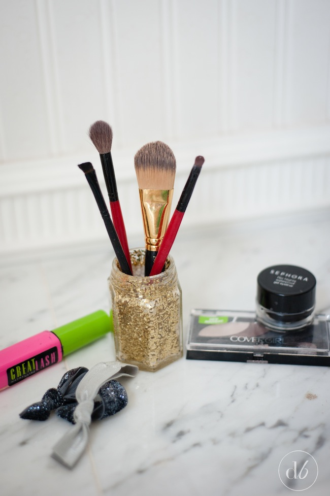 Glitter Makeup Brush Holder - Oh My Creative