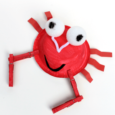 Crab Kids Craft
