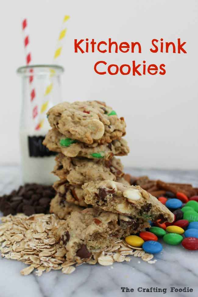Yummy Kitchen Sink Cookies Recipe Oh My Creative