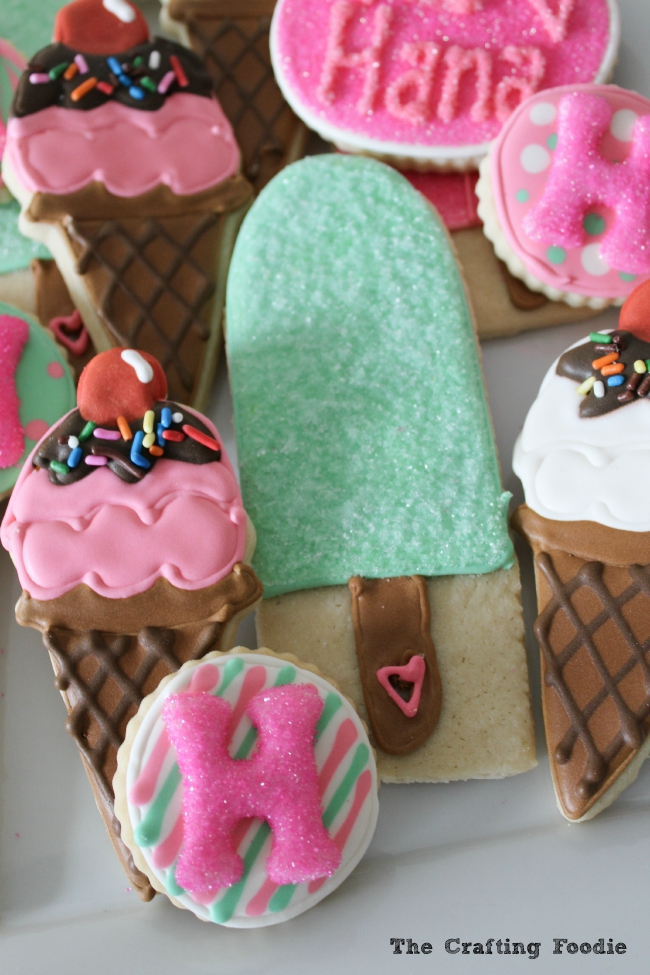 Cute Popsicle Wallpaper Ice Cream Decorated Sugar Cookies Oh My Creative