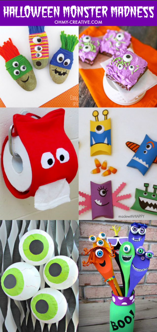 monster craft ideas monsters creative ideas oh my creative 2503