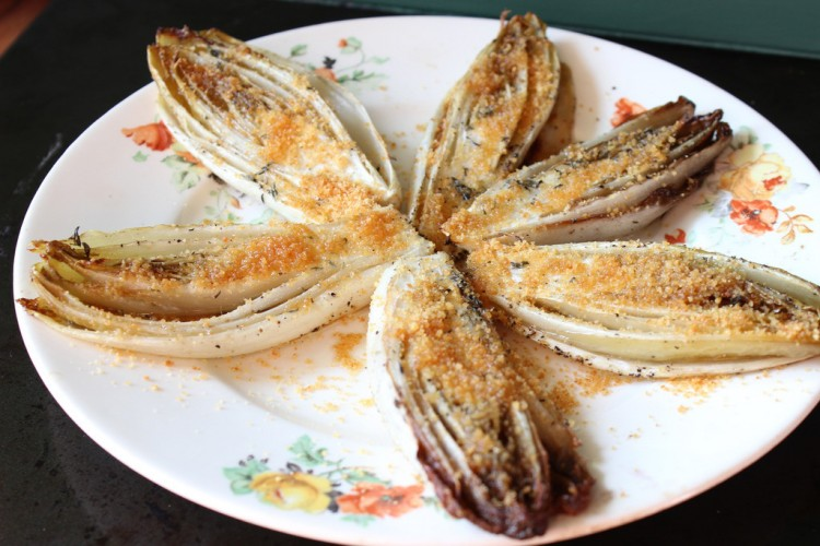 Seasoned Roasted Endive
