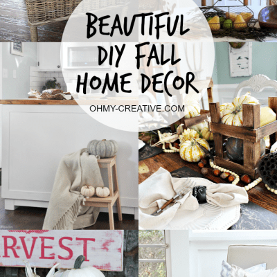 Beautiful Do It Yourself Fall Home Decor