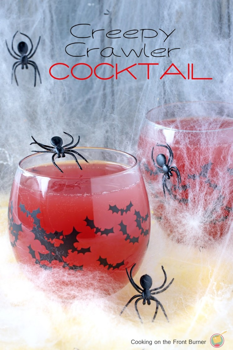 Creepy Crawler Halloween Cocktail