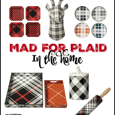 Mad For Plaid In The Home