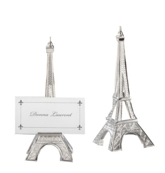 Kate Aspen Eiffel Tower Place Card Holders