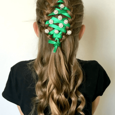 Christmas Tree Braid