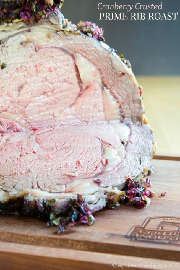 cranberry crusted prime rib roast