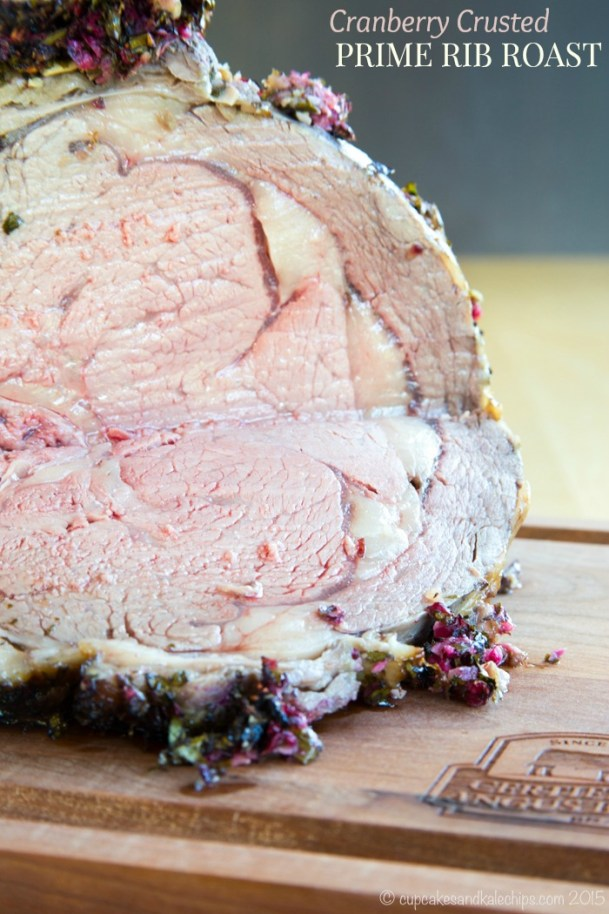 cranberry crusted prime rib roast