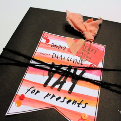 Free Printable Holiday Gift Tags