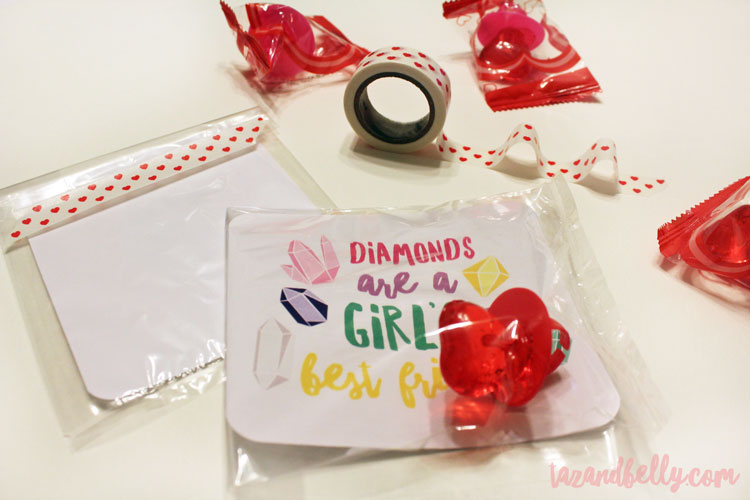 DIY Diamond Ring Valentines | ohmy-creative.com