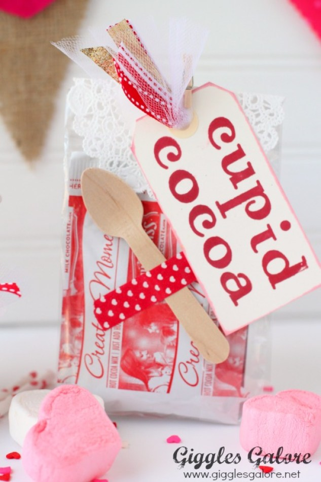 Cupid Cocoa Packets Valentine